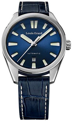 Louis Erard Orologio automatico Collezione Sportive Quadrante Blu...
