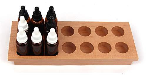Wumudidi Montessori sensorial Sabor y la sensación, Juguetes de Desarrollo Infantil Botella Sabor de Madera, 12.6 * 4.7 * 1.2inch