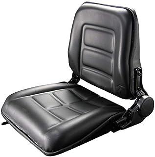 MP 汎用座席 防水 大座席 シート 交換用 リクライニング&スライダー機能付 座席 椅子 フォーク リフト トラック ユンボ Type-E