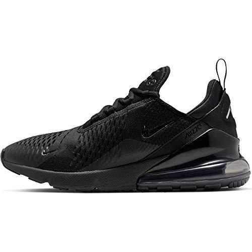 Nike Air Max 270, Scarpe da Corsa Uomo, Black/Chrome/Pure Platinum/Anthracite, 48.5 EU