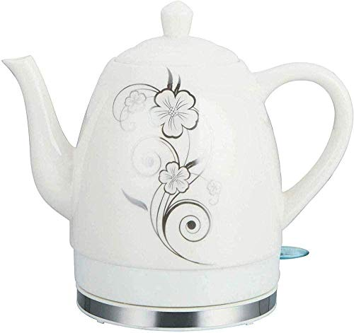 1 2L Tea Coffee Maker Boiler for Hot Water Ceramic Electric Kettle Boils Water Fast for Tea Coffee Soup Oatmeal Orchid Kitchen equipment