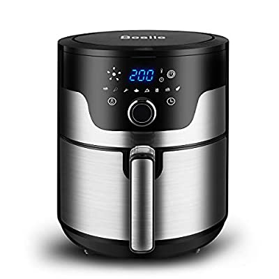 Besile Air Fryer 3.7 Quart,1500-Watts Stainless...
