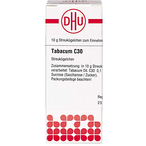 DHU Tabacum C30 Streukügelchen, 10 g Globuli