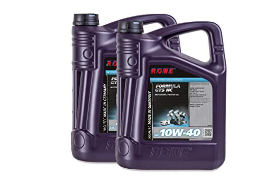 10 (2x5) Liter ROWE HIGHTEC FORMULA GTS SAE 10W-40 HC