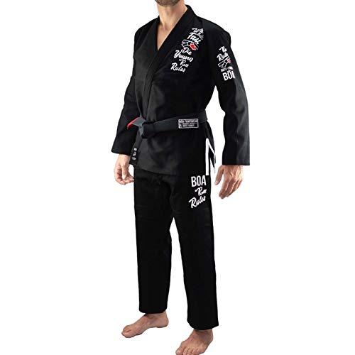 Bõa BJJ Gi Kimono Roll Rules - Negro, A3