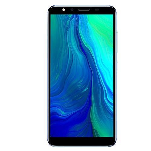Teléfono Android, 5.72 pulg. De Alta definición, teléfono Inteligente ultradelgado Completo de 512 MB + 4 GB, teléfono móvil con Doble Tarjeta SIM y batería de 1800 mAh(Azul)