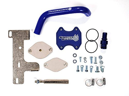 Sinister Diesel EGR Cooler Kit for Dodge Cummins 2010-2016 6.7L