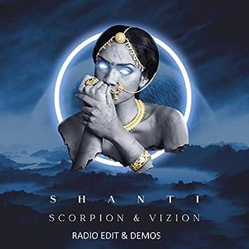 Shanti Radio Edit & Demos