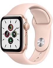 Apple Watch SE(GPSモデル)- 40mmゴールドアルミニウムケースとピンクサンドスポーツバンド