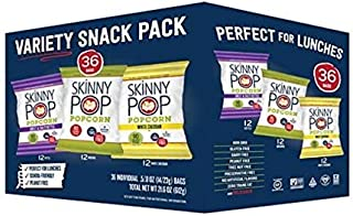 Original Popped Popcorn, Individual Bags, Gluten Free Popcorn, Non-GMO, No Artificial Ingredients, A Delicious Source of Fiber, 1 Ounce (Pack of 12) (Variety-36 Count)