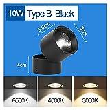 XXFFD Focos LED 220V Luces de Punta LED Lámpara de Luces de Pista 12/20 / 30 / 40W Manchas de riel Lámpara de iluminación para la Tienda de la Sala de Estar de la Cocina