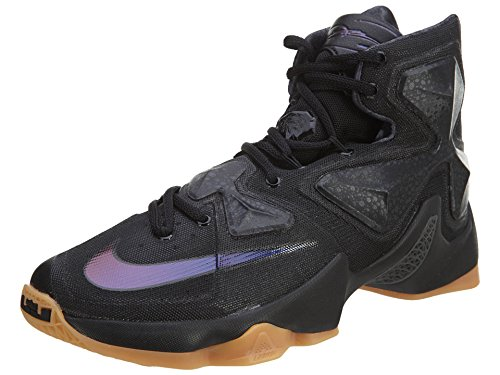 Nike Lebron XIII, Scarpe da Basket Uomo, Netro/Grigio/Antracite, 43 EU