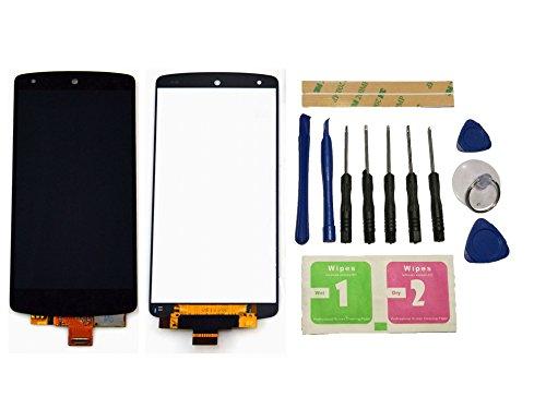 Flügel für LG Google Nexus 5 D820 Display LCD Ersatzdisplay Schwarz Touchscreen Digitizer Bildschirm Glas Assembly (ohne Rahmen) Ersatzteile & Werkzeuge & Kleber