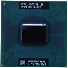 Intel Core 2 Duo T9800 SLGES 2.93GHz 6MB Dual-core Mobile CPU Processor Socket P 478-pin