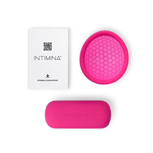 Intimina Ziggy Cup – Extra-dünne wiederverwendbare Menstruationstasse mit flacher Passform - 7