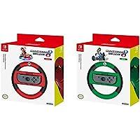 Hori - Volante Mario Kart 8 Deluxe (Nintendo Switch) &  - Volante Mario Kart 8 Deluxe Luigi (Nintendo Switch)