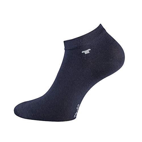 TOM TAILOR Unisex -8 Paar Sneakersocken (Marine, 43/46)
