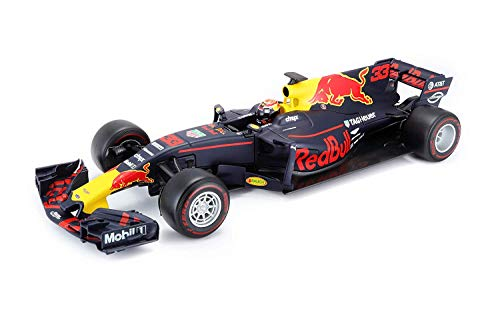 Carro Miniatura - F1 Red Bull Rb13 - 2017 - 1/18 - Max Verstappen - Burago