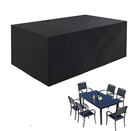 BKPH Funda para Muebles de Jardín Impermeable, Protección contra el Polvoy Los Rayos UV, Cubierta de Mesay Silla para Muebles de JardíN, Resistente al Aguay Sin Decoloración