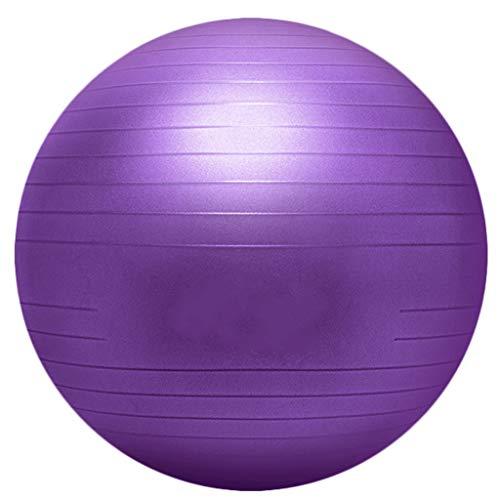 SAP- Yogabal verdikking explosieveilige fitness bal zwangere vrouwen levering verloskundige balans yogabal zacht (Color : F, Size : Diameter 55cm)