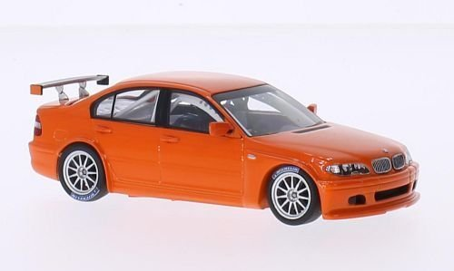 BMW 320i (E46/4), orange, 2005, Modellauto, Fertigmodell, Minichamps 1:43
