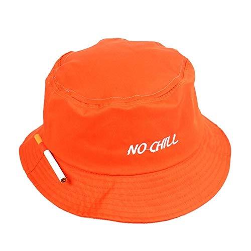 H/A Humo Tubo para Hombre Y para Mujer Sol Pescador Sombrero Algodón Sombrero de Verano Playa de Verano Pescador Sombrero UPF 50+ UV Plegable