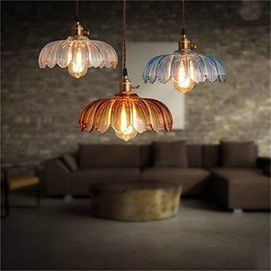 Moderne kroonluchter plafondlamp hanger vintage oude Shanghai koperen kap glas kroonluchter 3C ce Fcc Rohs voor woonkamer slaapkamer