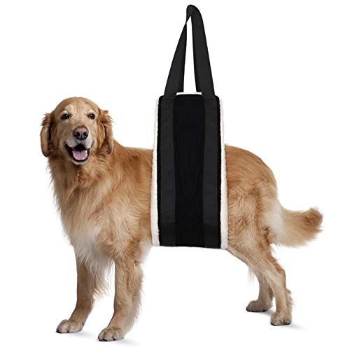 JYSILIYH Dog Sling for Back Legs,Dog Support Harness for Rear Leg,Dog Lifting Harness for Large/Small/Medium Dogs,Dog Lift Sling for Canine Aid and Old K9 Cruciate Ligament Rehabilitation