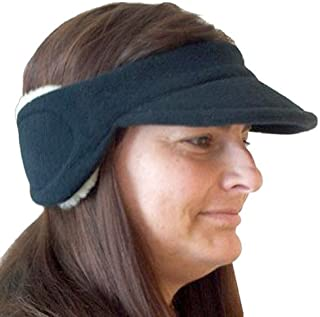 Intrepid International Polartec Ear Warmers Visor