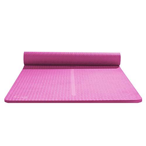zlw-shop Esterilla Yoga Cojín al Aire Libre del césped Principiante Antideslizante Yoga Mat Yoga Mat Mat Grueso de Ejercicio físico Colchoneta de Yoga
