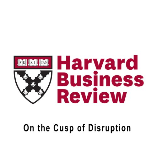On the Cusp of Disruption (Harvard Business Review) audiobook cover art