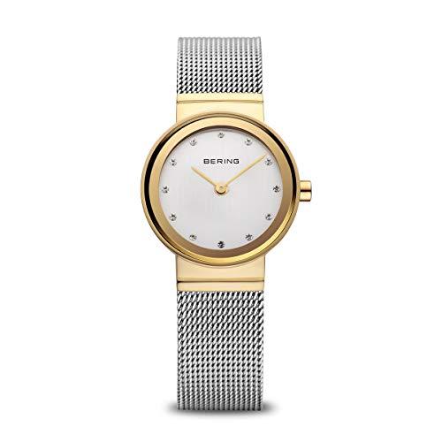 BERING Damen-Armbanduhr Analog Quarz Edelstahl 10122-001