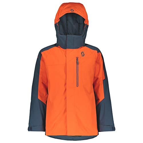 Scott Kinder Skijacke B's Ultimate Dryo 10 Nightfall Blue/Tangerine orange XL