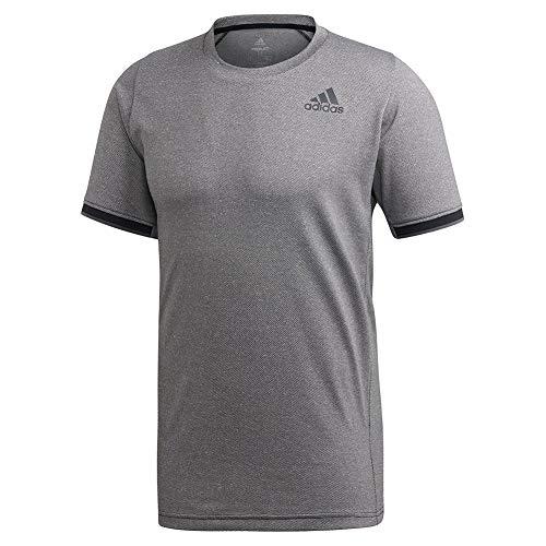 adidas Camiseta Gameset Freelift para Hombre, Hombre, Camiseta, IEC97, Negro, S