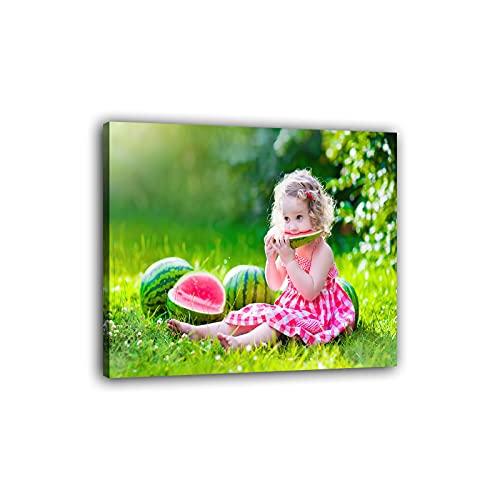 Lovmore Ihr Foto auf Leinwand, Ihr Fotodruck selbstgestalten eigenes Motiv, Leinwandbild, Fotogeschenk individuell, Foto als leinwand, DIY Wanddekoration Wohnung Deko...