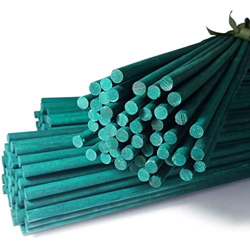 Elixir Gardens  2Ft Green Flower Sticks Cane Support 24' - 50