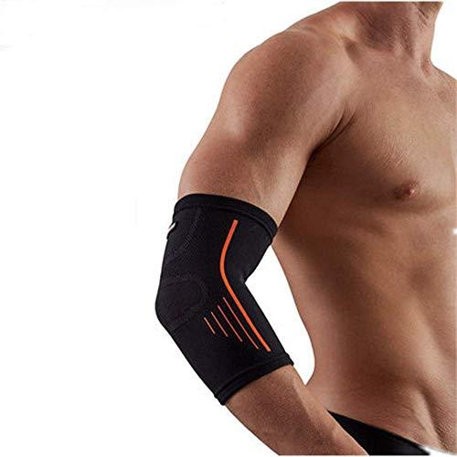 SOFIT Sports Kompressions Ellenbogenbandage, Ellenbogenschoner Für Sport, Fitness-Training, Atmungsaktive Armlinge, Unterarmstütze Hautfreundlich