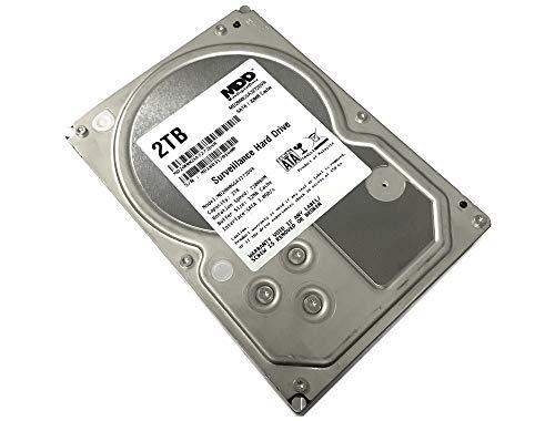 "MaxDigitalData 2TB 32MB Cache 7200PM SATA 3.0Gb/s 3.5"" Internal Surveillance CCTV DVR Hard Drive (MD2000GSA3272DVR) - w/2 Year Warranty (Renewed)"
