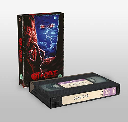 The Gate 1+2 - Limited Edition - VHS-Retro-Edition (Cover B) [Blu-ray]
