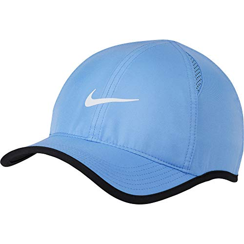 Nike Herren Featherlight Kappe, Royal Pulse/White, One Size