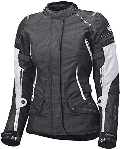 Held Motorradjacke mit Protektoren Motorrad Jacke Molto Damen Textiljacke GTX schwarz/weiß XXL, Tourer, Ganzjährig