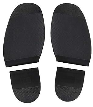 Shoe Repair Replacement Rubber Heels and Soles 1 Pair