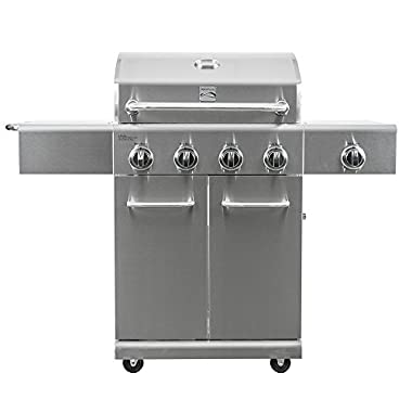Kenmore 4 Burner Plus Side Burner SS Grill