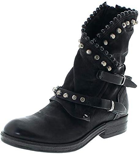 A.S.98 Damen Stiefel 207239 schwarz schwarz schwarz Airsteps Lederstiefelette  Fitness-Händler