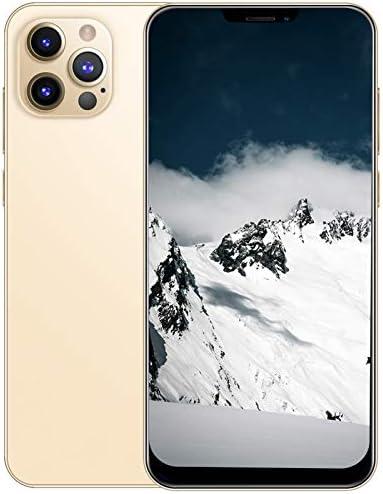Unlocked Cell Phones 3G, i12 Pro MAX Android 6.0 Unlocked Smartphone Mobile Phone, 6.7″ FHD+ Full Screen, 2GB+32GB, Dual SIM, Face ID & Fingerprint Unlock, Triple Card Slots, 2400mAh Battery