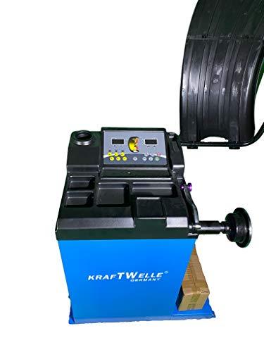 Kraftwelle Máquina para elevar neumáticos semiautomática de hasta 24 pulgadas.