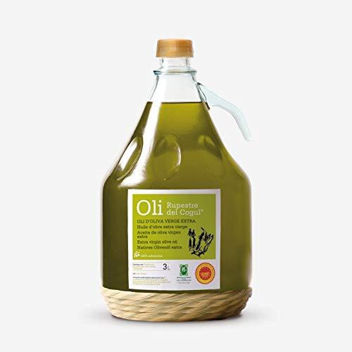 Aceite de Oliva virgen extra - Garrafa de vidrio de 3 Litros