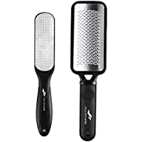 2-Piece Fu Store Stainless Steel Foot Files Callus Remover