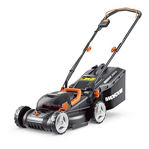 WORX WG779E.2 36V (40V Max) Cordless 34cm Lawn Mower (Dual Battery x2 20V Batteries)