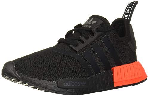 adidas Originals NMD_r1 - Zapatillas de Deporte para Hombre, Color Negro y Rosa, Color Negro, Talla 45 EU